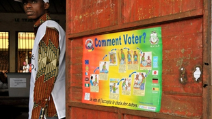 The first round of Guinea's presidential polls in June were marred by allegations of fraud.