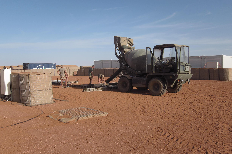 (illustration) Niger: soldats de l'opération Barkhane sur la base de Madama.