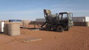 Au Niger, les soldats français de l'opération Barkhane à Madama, une base en constante évolution.