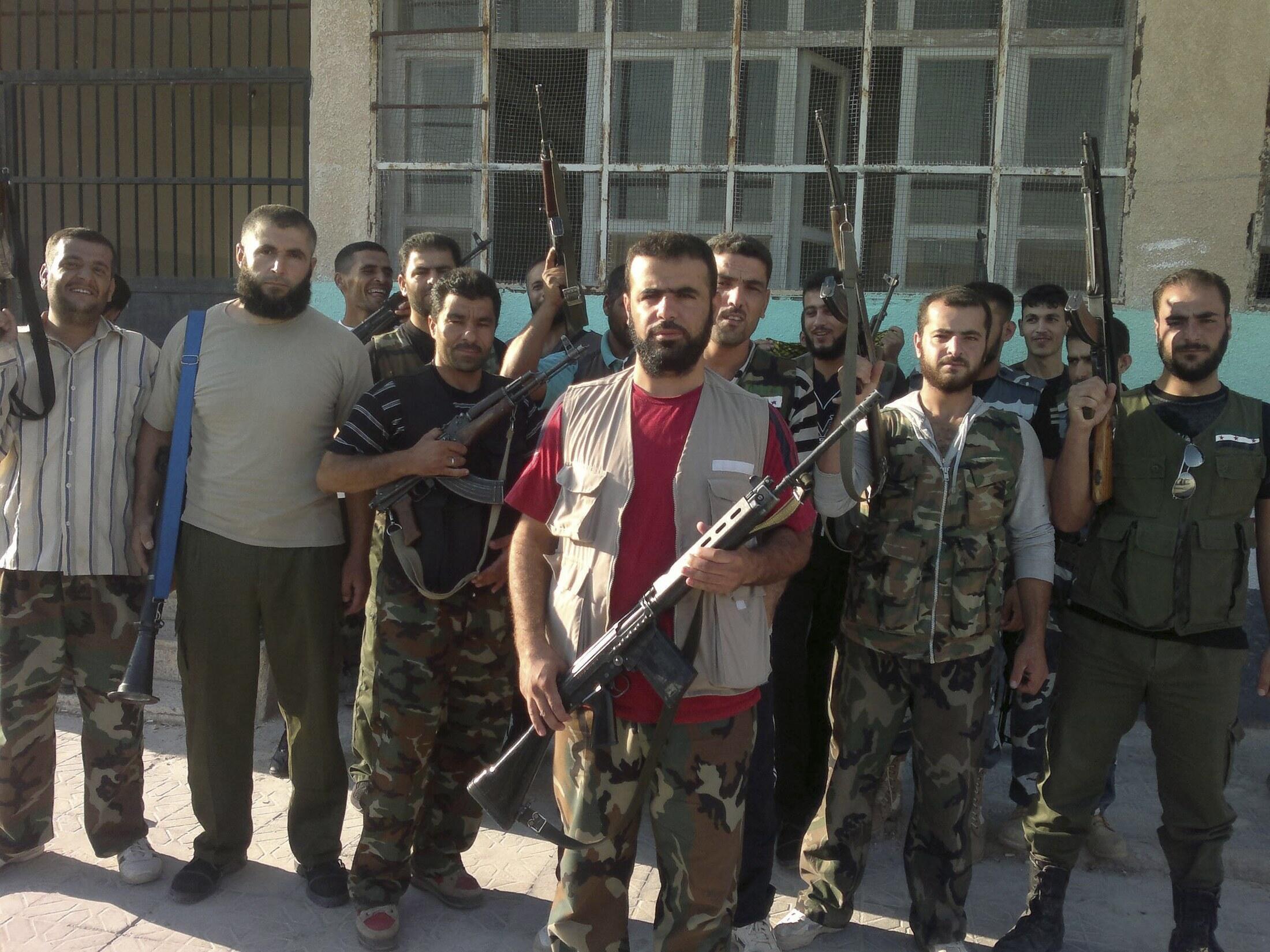 Wasu 'Yan tawayen kasar Syria