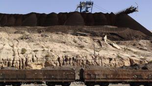 Le secteur du phosphate s'est effondré en Tunisie depuis 2010. (Photo : gare de Seldja en Tunisie).