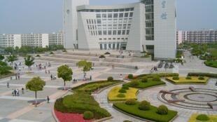 Le campus universitaire de Sanghai.