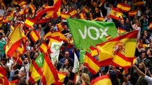 Ascensão do partido de extrema direita marca o fim da campanha eleitoral na Espanha.