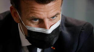 Presidente francês, Emmanuel Macron.