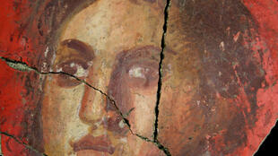 The face of a young woman was one of the ancient images found at Arles in the south of France