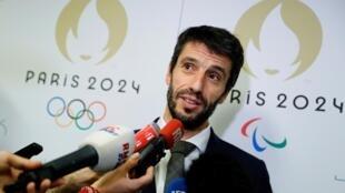 Tony Estanguet, le patron du comité d'organisation des jeux de Paris 2024.