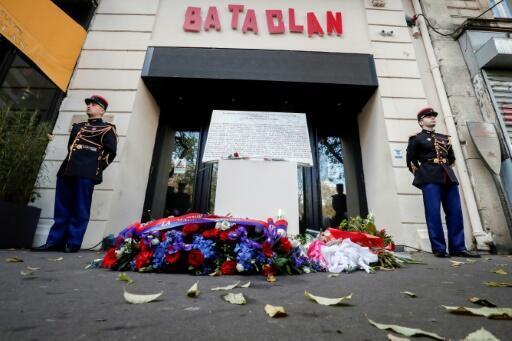 A ceremony was held for victims of the massacre at the Bataclan concert hall in Paris on the third anniversary of the attacks