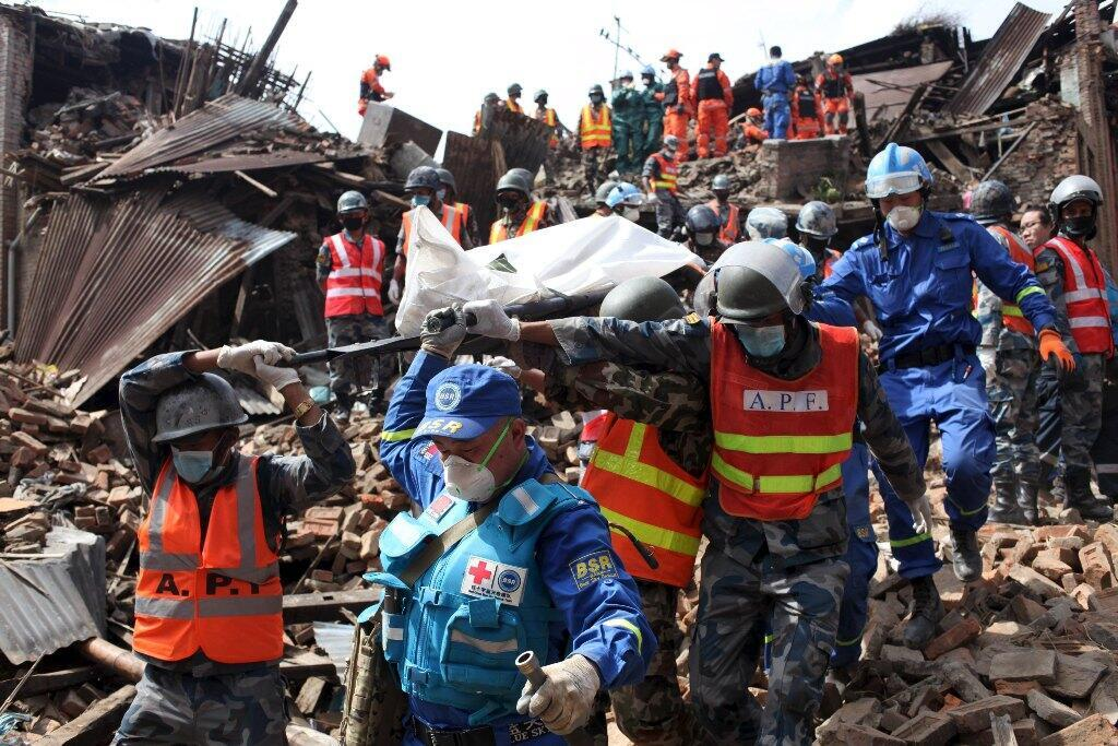 O terremoto no Nepal foi a catástrofe natural que mais provocou mortes em 2015.