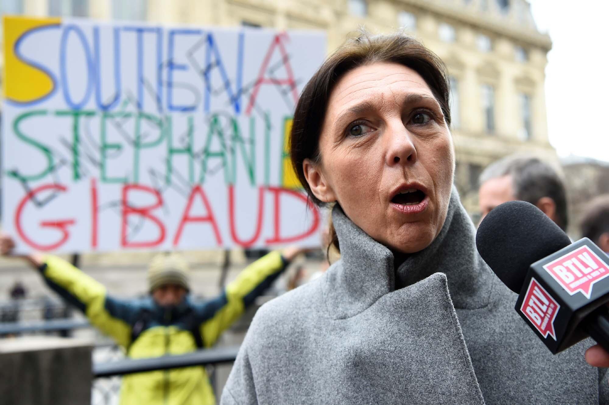 La lanceuse d'alerte Stephanie Gibaud a été poursuivie en justice par son ancien employeur, UBS, pour plusieurs sections de son livre «La femme qui savait trop», où elle dénonçait les activités d'évasion fiscale de la banque. Le 2 février 2017 à Paris.