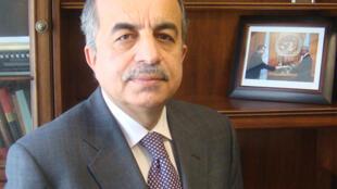 Zahir Tanin, l'ambassadeur de l'Afghanistan aux Nations unies.