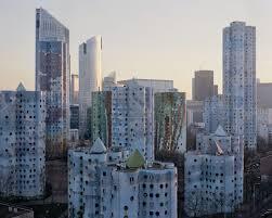 巴黎近郊南黛爾市20世紀優秀文化遺產《雲塔》