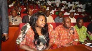 Sont concernés par l'enquête américaine pour biens mal acquis présumés Denis Christel Sassou Nguesso et sa soeur Claudia Sassou (photo).