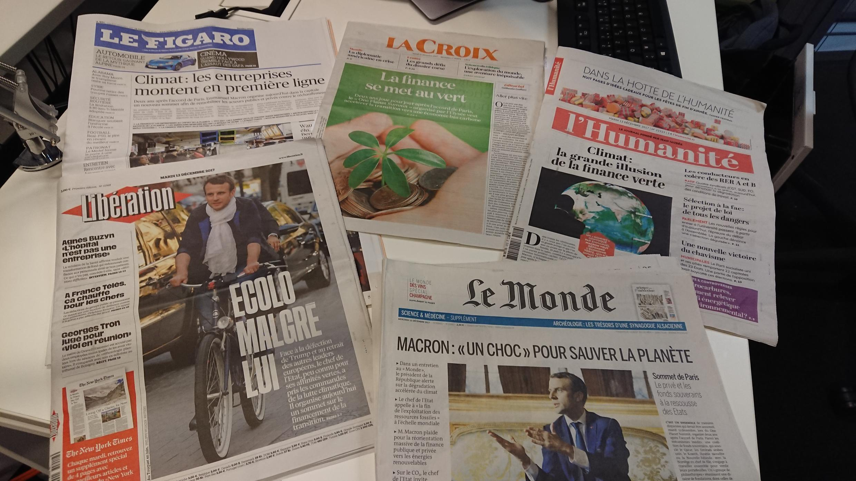 Diários franceses 12.12.2017