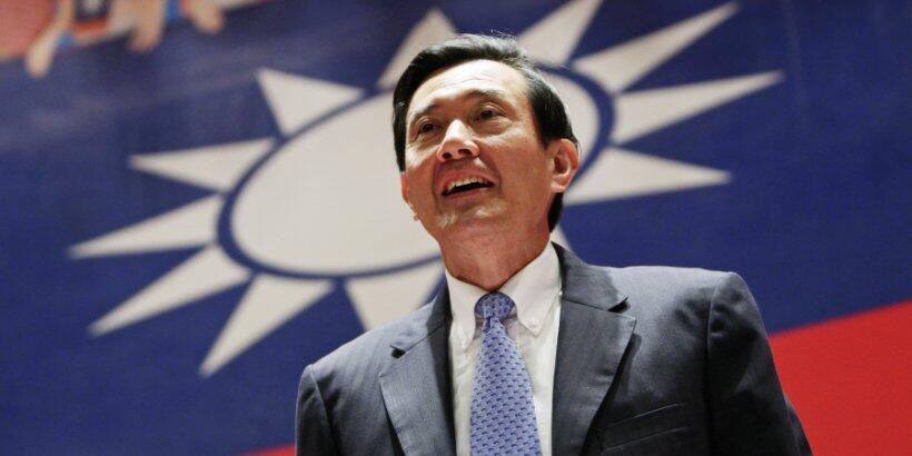 台灣前總統馬英九資料圖片
