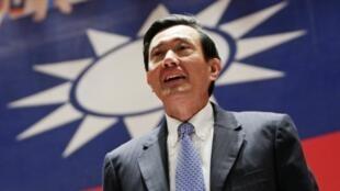 台湾前总统马英九资料图片