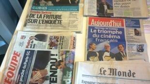 Diários franceses 25/05/2015
