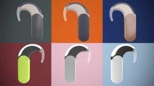 Implantes auditivos.