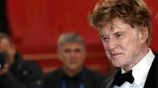 L'acteur Robert Redford a monté les marches du Festival de Cannes pour la projection du film «All is lost», de J.C. Chandor, le 22 mai 2013.