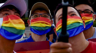 Taiwan hosted one of the few pride marches around the world on Sunday as the island's LGTBQ community and their supporters took to the streets
