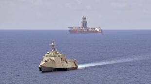 Bien Dong - Mer de Chine méridionale - West Capella - USS Gabrielle Giffords