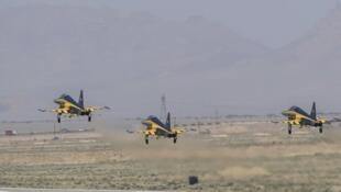 تحویل ۳ فروند جت جنگنده «کوثر»