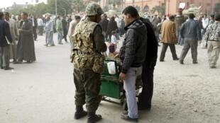 La place Tahrir, au Caire, symbole de la contestation égyptienne, le 7 février 2011.
