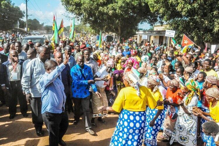 Presidente de Moçambique em Pesidência Aberta no Niassa