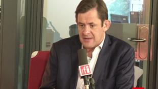 François Kalfon (PS), conseiller régional d'Île-de-France sur le plateau de RFI, le 1er septembre 2017