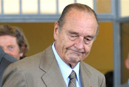 Tsohon shugban Faransa  Jacques Chirac.