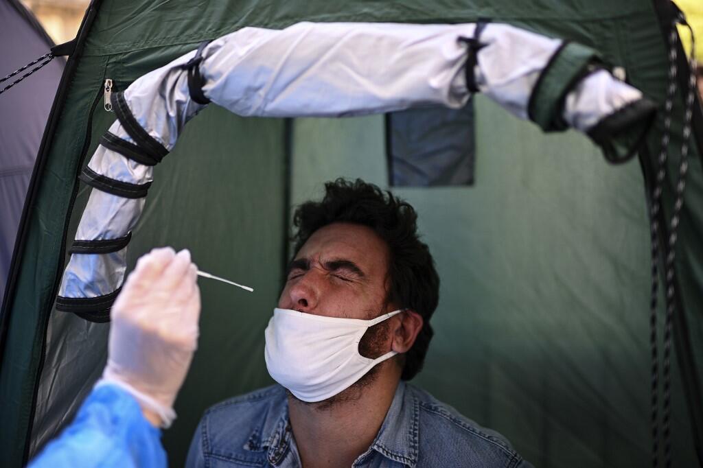 57.911 mortos em França desde o início da epidemia do coronavírus