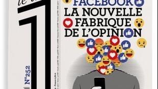 """Франмент первой полосы одностраничной газеты """"Le Un"""", 07 июня 2019"""