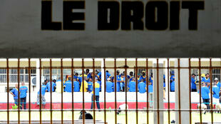 Vue de la prison de Makala à Kinshasa, RDC. (image d'illustration)