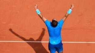 El número 1 del mundo, Rafael Nadal, volverá a competir la final del abierto de tenis de Roland Garros.