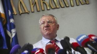 L'ultranationaliste serbe Vojislav Seselj (ici en 2016) s'est dit «fier des crimes qui lui sont imputés».