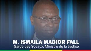 Ismaila Madior Fall, ministre sénégalais de la Justice.