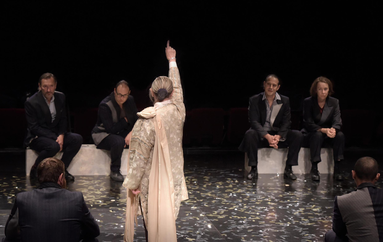 «Jules César», de William Shakespeare à la Comédie Française, dans une mise en scène de Rodolphe Dana.