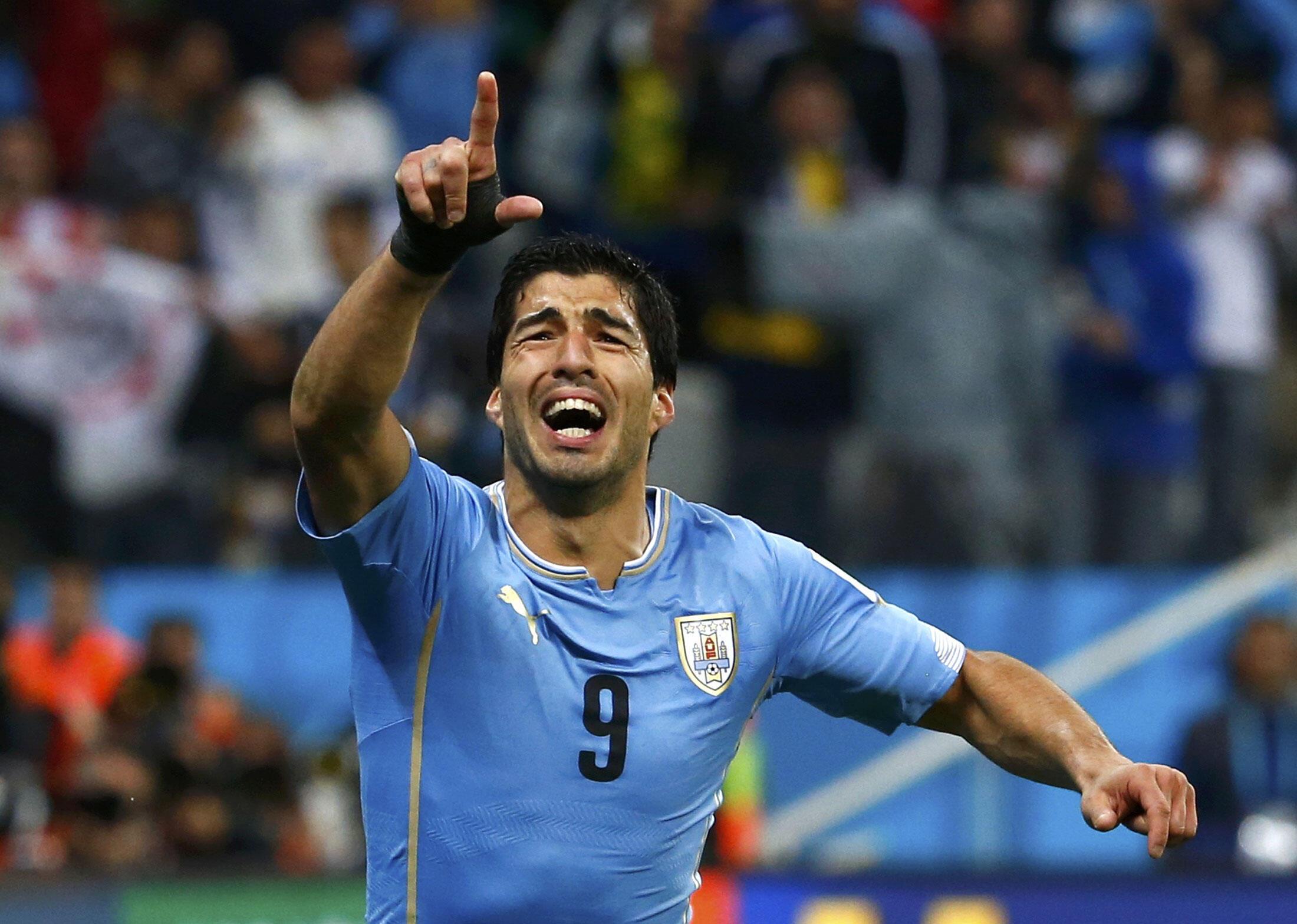 Dan wasan Uruguay, Luis Suarez