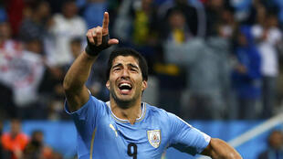 Luis Suarez was star of a match that saw Uruguay beat England