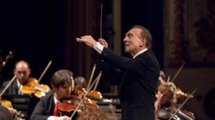 Le chef d'orchestre Claudio Abbado.