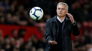 José Mourinho, treinador do Manchester United.