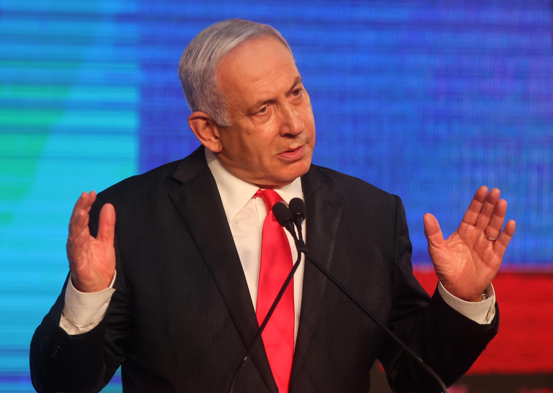 El primer ministro israelí Benjamin Netanyahu, el 24 de marzo de 2021 en Jerusalén