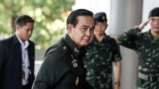 Lãnh đạo chính quyền quân sự Thái Lan, tướng Prayuth Chan-ocha, Bangkok, ngày 13/06/2014