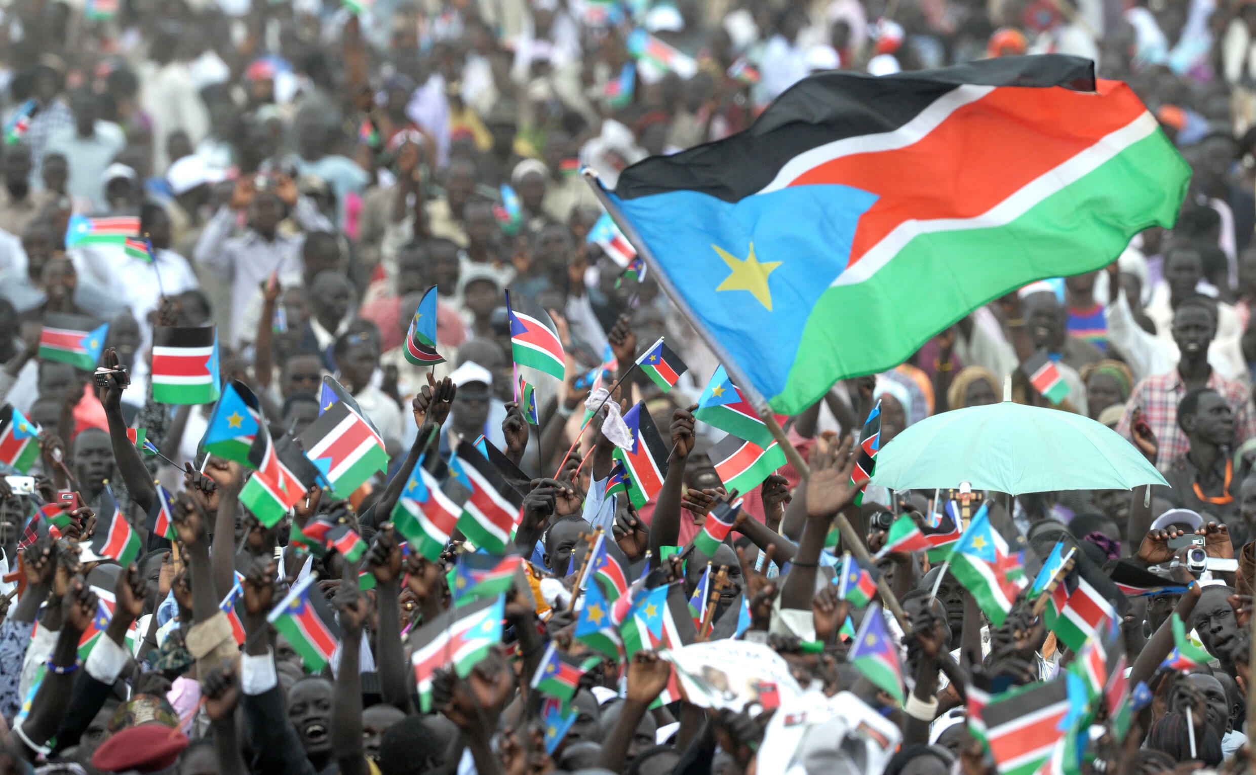 Thousands celebrated South Sudan's independence in July 2011 but the revelry was shortlived