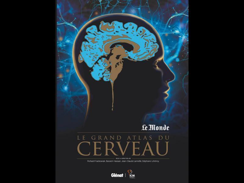 Couverture «Le Grand Atlas du cerveau».