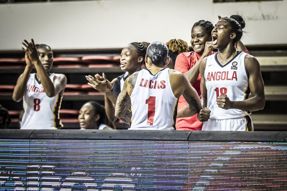 Afrobasket - Angola - Basquetebol - Feminino - Angola - Desporto - Basquetebol - Basket - Angolanos - Afrobasket - CAN - Basket