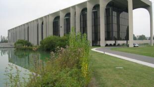 Le siège de la maison d'édition Mondadori, près Milan.
