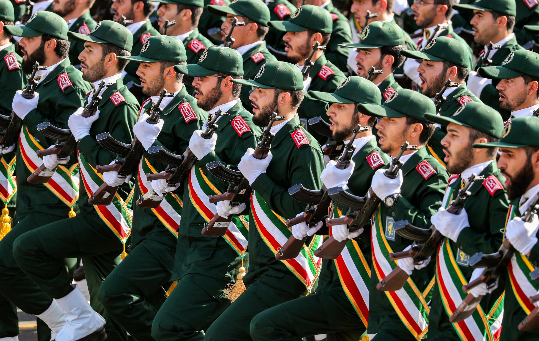 رژۀ نیروهای سپاه پاسداران.