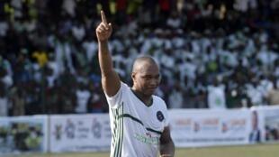 Le Sénégalais El Hadji Diouf, en mai 2019.