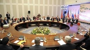 Переговоры по ядерной программе Ирана, Алма-Ата. Архив.