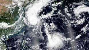 Le typhon Maysak est passé sur toute la péninsule coréenne.